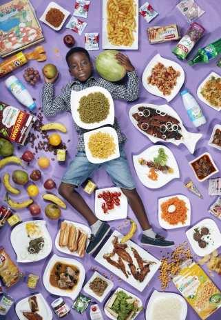 Frank, 8 jaar, Dakar, Senegal ©Gregg Segal