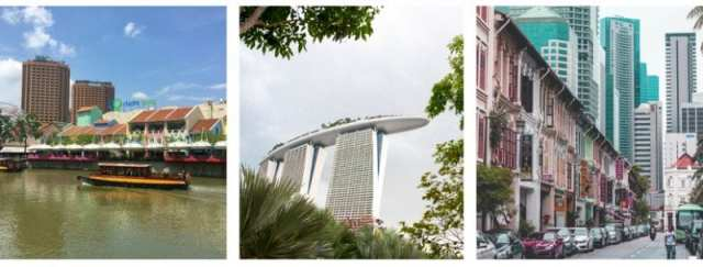 Fietsen in Singapore