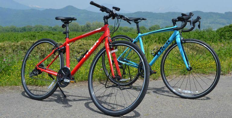 maaruクロスバイクとロードバイク