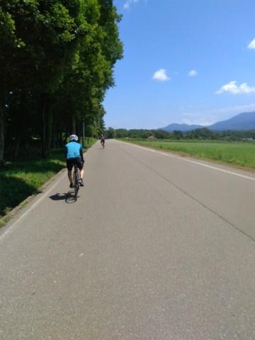 聖地認定。信濃町でロードバイク