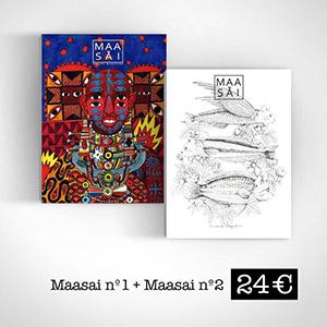 Pack Maasai Magazine 1+2