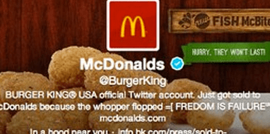http://abcnews.go.com/blogs/technology/2013/02/burger-king-twitter-account-hacked-to-look-like-mcdonalds/