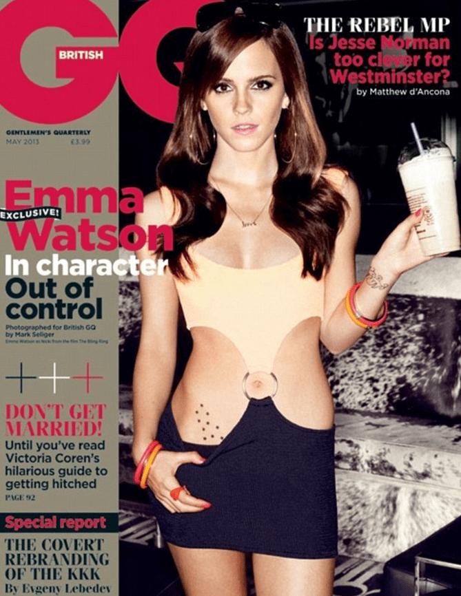 http://www.dailymail.co.uk/tvshowbiz/article-2302812/Emma-Watson-copies-Julia-Roberts-Pretty-Woman-cut-dress-sexiest-EVER-magazine-shoot.html