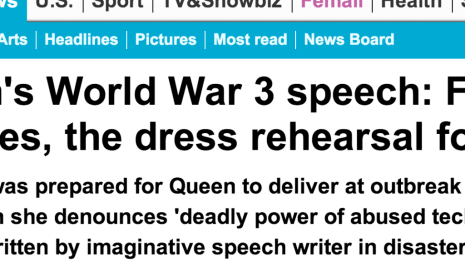 http://www.dailymail.co.uk/news/article-2382211/Queens-World-War-3-speech-Found-archives-dress-rehearsal-disaster.html