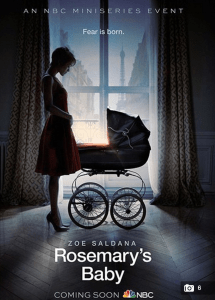 http://www.dailymail.co.uk/tvshowbiz/article-2588131/Poster-stills-released-showing-Zoe-Saldana-TV-remake-classic-horror-film-Rosemarys-Baby.html
