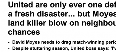 http://www.dailymail.co.uk/sport/football/article-2588292/Manchester-United-land-killer-blow-Manchester-Citys-title-chances.html