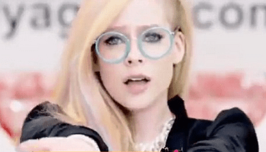 http://www.dailymail.co.uk/tvshowbiz/article-2610855/Avril-Lavigne-shows-slim-figure-plunging-leather-bodice-new-Japanese-techno-inspired-video-Hello-Kitty.html