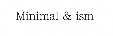 http://minimalism.jp