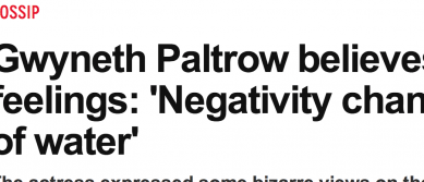 http://www.nydailynews.com/entertainment/gossip/gwyneth-paltrow-negativity-structure-water-article-1.1816948