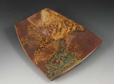 Overlapped Plate - MaashaClay Pottery