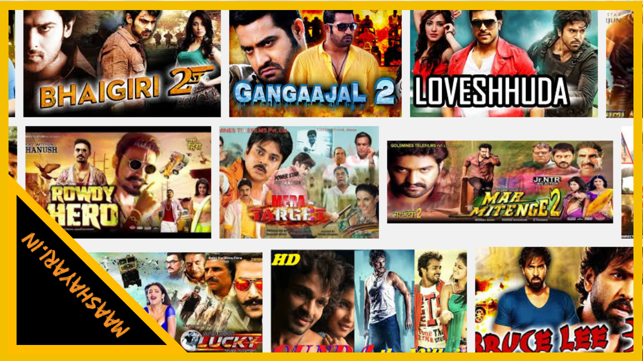 South Indian In Hindi Movies