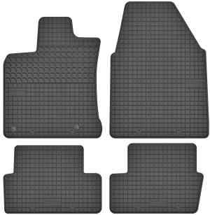 Nissan Qashqai I (2007-2013) gummimåttesæt (foran og bag)