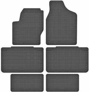 Ford Galaxy I 7 per (1995-2005) gummimåttesæt (alle måtter)