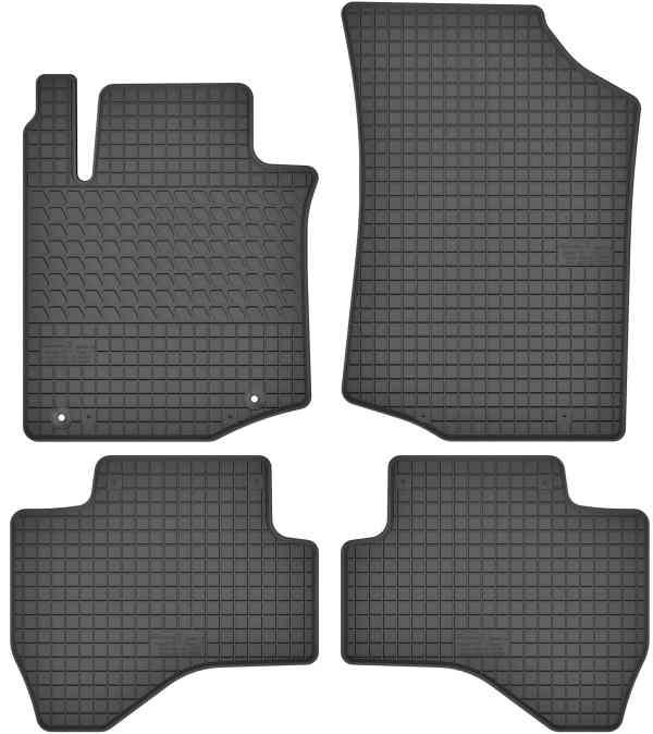 Toyota Aygo (2005-2014) gummimåttesæt (foran og bag)
