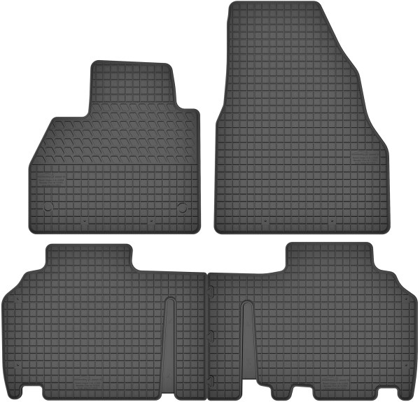 Mercedes Citan W415 (fra 2012) gummimåttesæt (foran og bag)