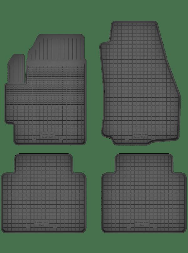 Chevrolet Rezzo (2000-2008) universal gummimåttesæt