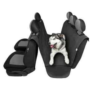 Hundetæppe i sort polypropylen 160x127