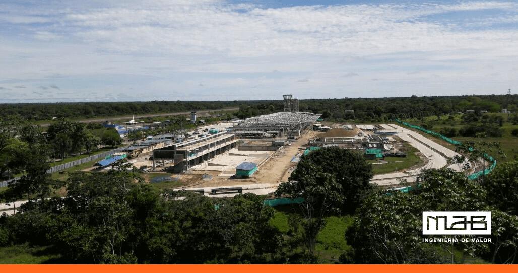 Avanza construcción del nuevo Aeropuerto de Leticia