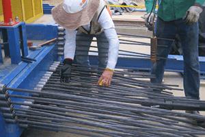 Pretensionamiento de cables