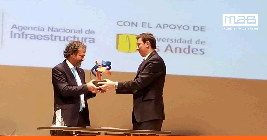 MAB Ingeniería de Valor recibió el Premio Nacional de Interventorías 2017