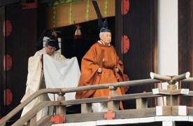 אירוע של פעם ב-200 שנה: קיסר יפן פרש מהכס לטובת בנו