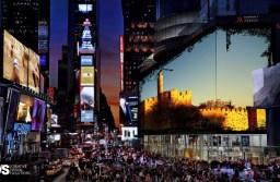 נסיגה באהדה לישראל: לשנה הבאה בטיימס סקוור הבנויה מאת ערן ששון?