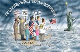 האם האנטישמיות באמריקה מתמסדת? \ בן צור