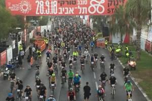 חסימות כבישים וכ-30 אלף רוכבים: כל המידע לקראת סובב תל אביב2019 מאת בועז אפרת