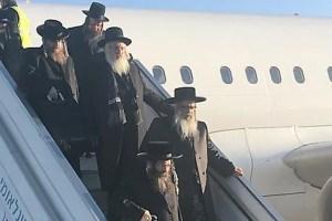 """""""מסע היסטורי"""": האדמו""""ר האנטי-ציוני נחת בישראל מאת קובי נחשוני"""