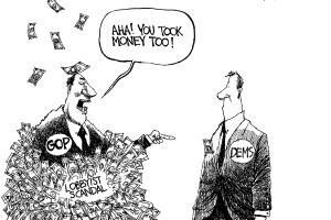מחיר הדמוקרטיה
