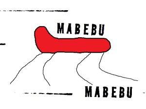 MABEBU Label Heuschreckenmensch