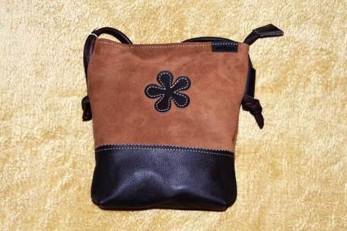 bolso, cremallera, piel, señora, artesania, hecho a mano, marron