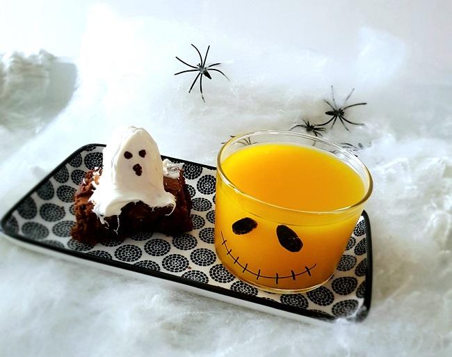 Un goûter d'Halloween