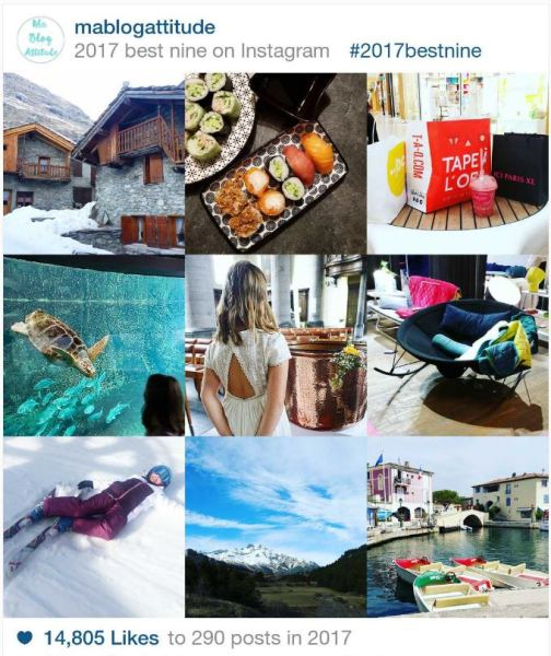 Mablogattitude Best nine instagram 2017