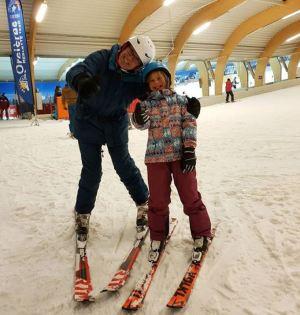 Skier à l'Ice Mountain avec l'ESF de Orcières Merlette