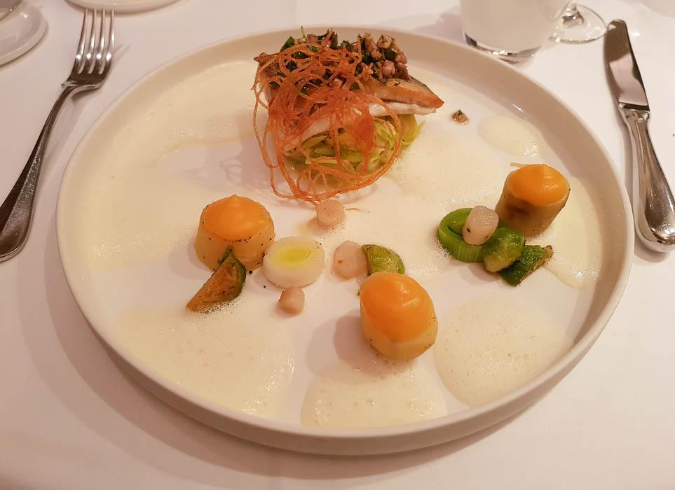 Plat restaurant Clos des Récollets