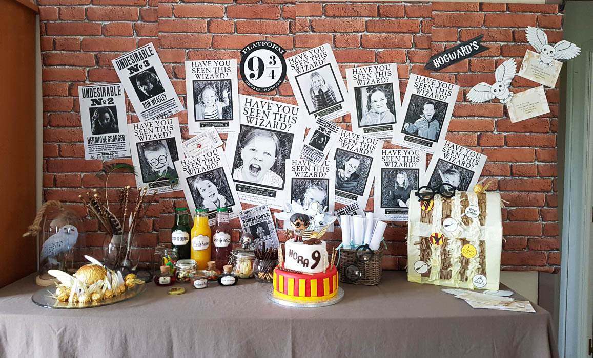 anniversaire harry potter. Black Bedroom Furniture Sets. Home Design Ideas