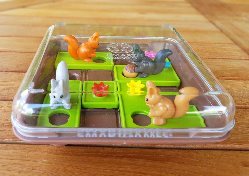 Coffret de rangement jeu de logique Cache Noisettes de Smartgames