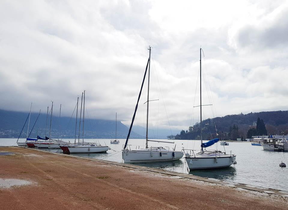 Lac d'Annecy, lac de montagne, Savoie