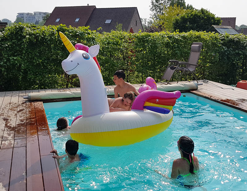 Pool party, un avant goût de vacances