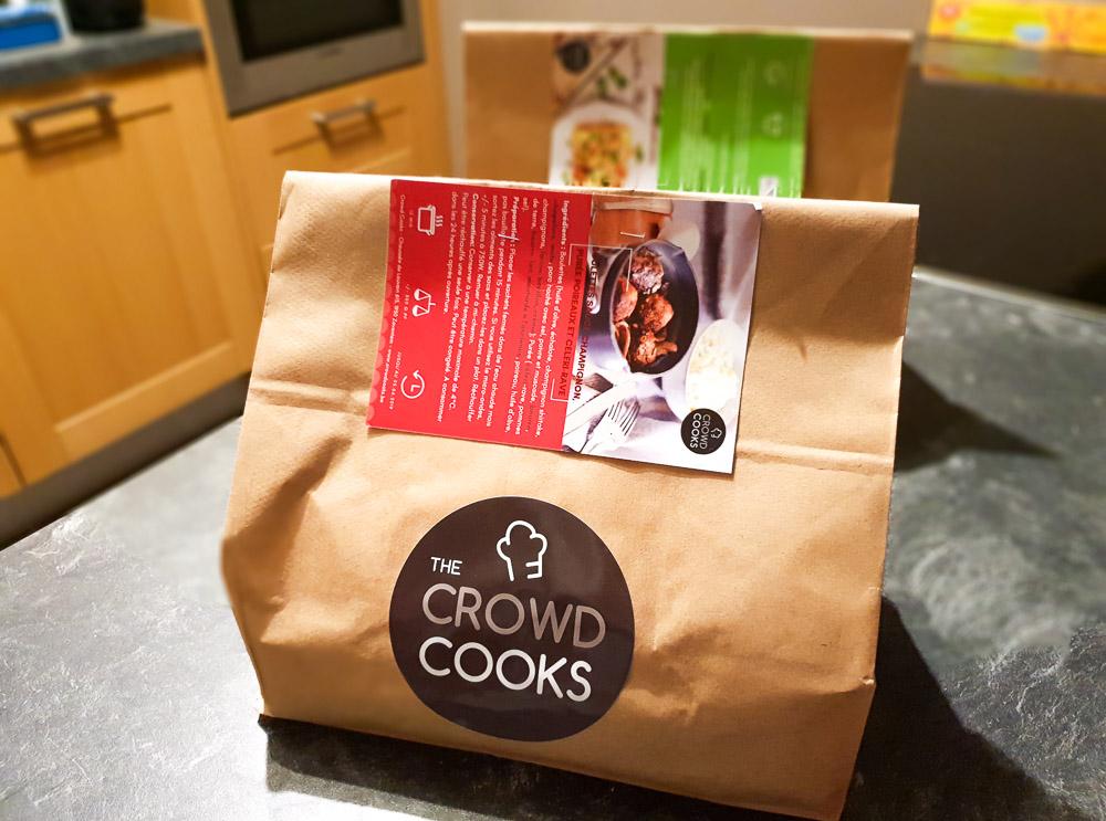 Notre avis sur la box de plats déjà cuisinés Crowd cooks