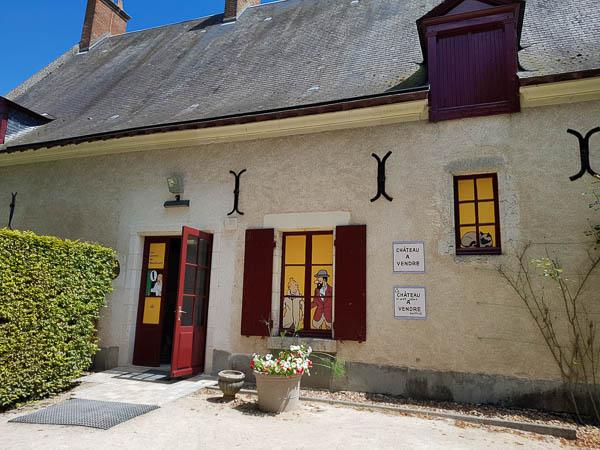 Château de Cheverny - expo Tintin