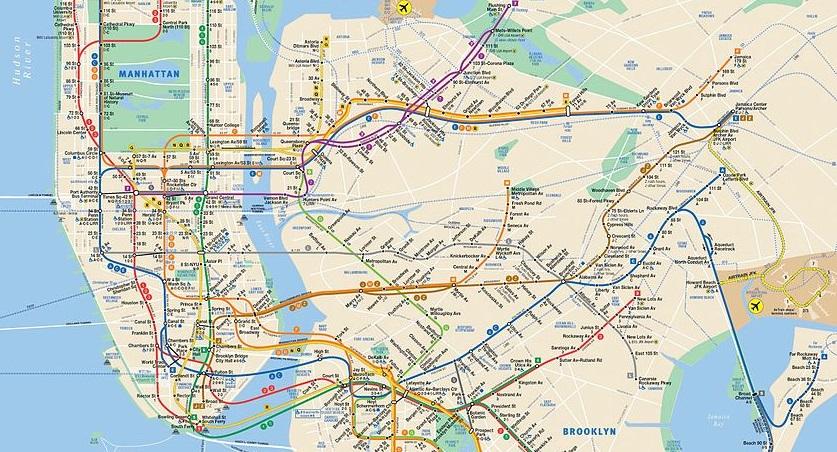 Départ pour notre trip à New York