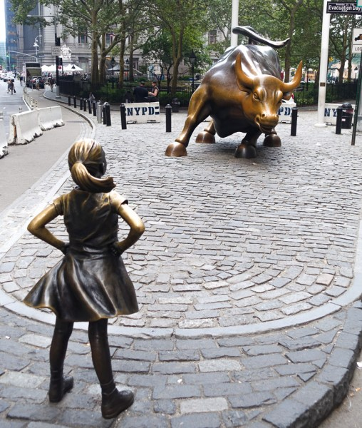 New York - Charging bull - le taureau de Wall Street