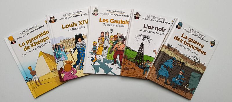 BD Jeunesse au fil de l'Histoire : notre avis !