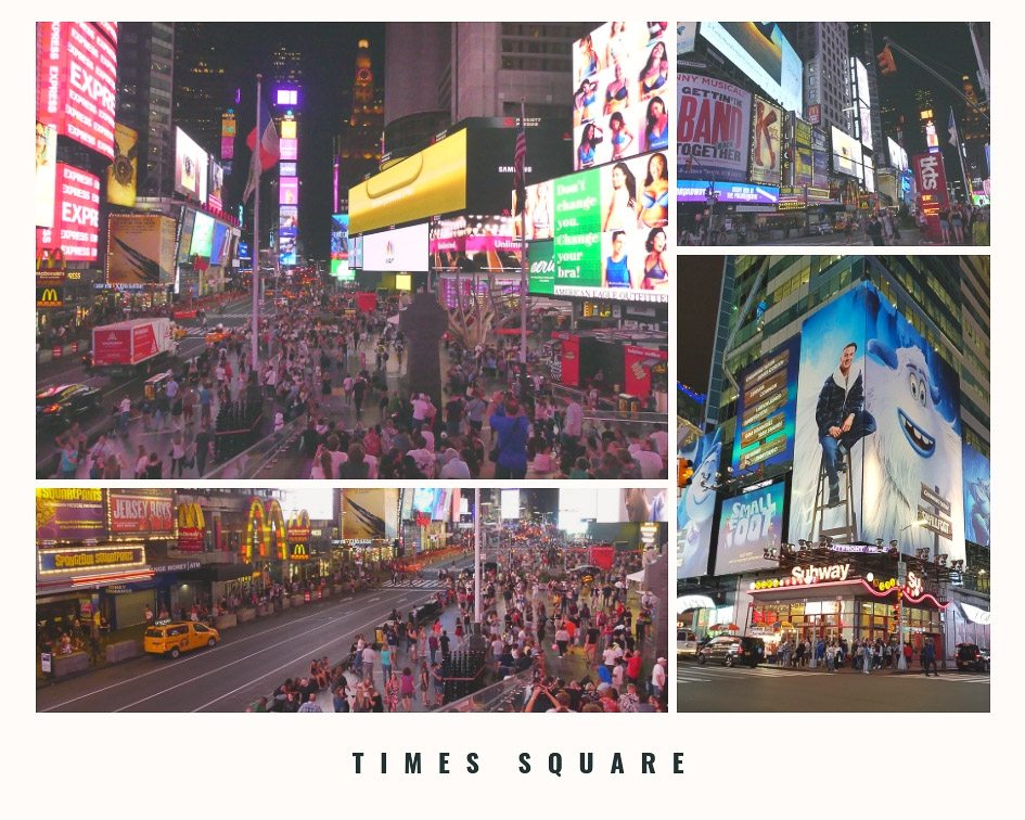 Incontournables à New York - Times Square