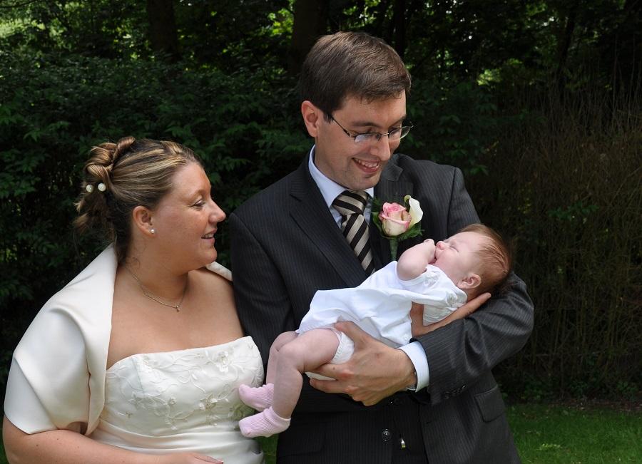 Challenge 10 ans : notre mariage, notre bébé