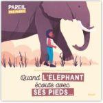 Quand l'éléphant écoute avec ses pieds : notre avis