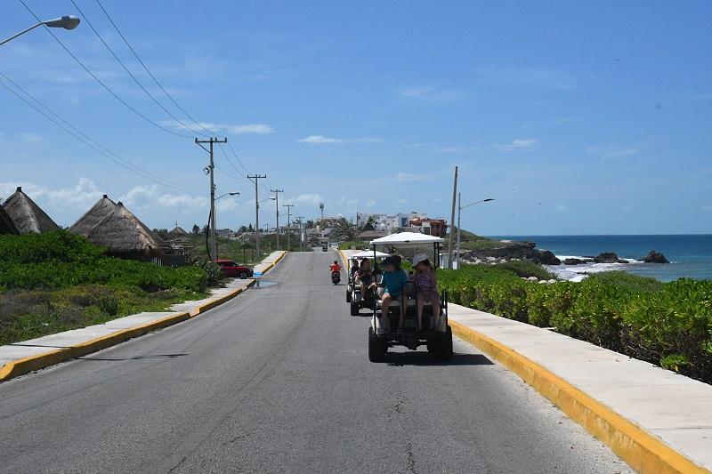 Isla Mujeres, balade sur l'île