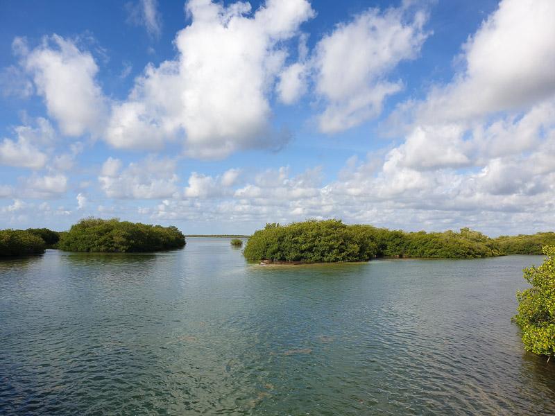Réserve naturelle de Sian Kaan : Boca Paila Lagoon